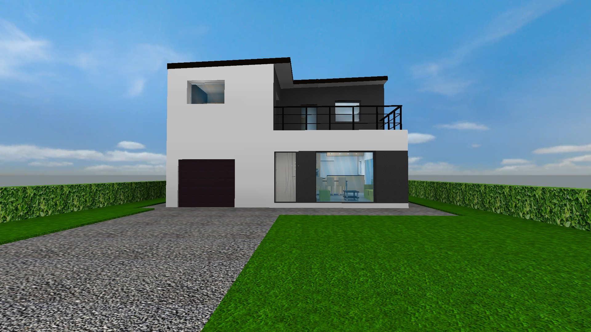 Perfect Home Model Using HL Source. Some Views Of A House Construction Project  Using Half Life Source Engine I Realized.